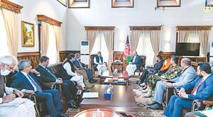 Islamabad, Kabul vow to address challenges plaguing ties
