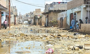 Surjani residents brave abominable conditions in rain's aftermath