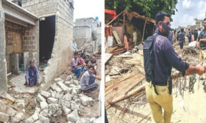 Drive launched to demolish structures built along Gujjar Nullah