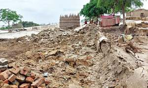 2,000 mud houses damaged in torrential rain