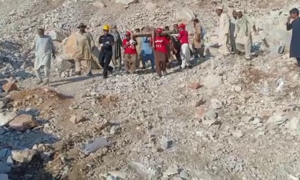 Death toll from rockslide at marble quarry in KP's Mohmand rises to 22