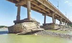 Despite NHA assurances, locals wary of 'fragile' pillars of Hub bridge