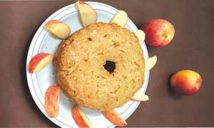 Cook-it-yourself: Apple cinnamon cake