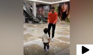 شعیب ملک کی بیٹے کے ساتھ ویڈیو سوشل میڈیا پر وائرل