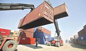 Strategy devised to clear Afghan containers stuck at Karachi ports