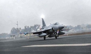 PAF aircraft crashes in Attock during routine training, pilot ejects safely