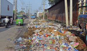 Rot sets in as LWMC fails to lift litter from city areas