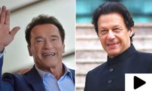 ہالی وڈ اسٹار آرنلڈ شوارزنیگر کی وزیراعظم عمران خان کی تعریف