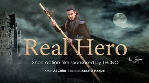 TECNO Mobile sponsors local production 'Real Hero' featuring Ali Zafar