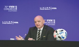 Infantino welcomes dialogue but won't accept govt interference in PFF affairs