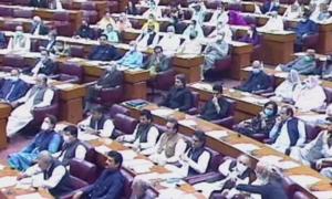 'پارلیمنٹ کے  مشترکہ اجلاس سے 53 ممبران اسمبلی غیر حاضر رہے'