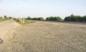 Broken Okara bypass risky for motorists