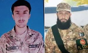 شمالی وزیرستان: آپریشن کے دوران فائرنگ کے تبادلے میں پاک فوج کے 2 جوان شہید