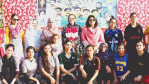 Shaheed Benazir XI win girls basketball match