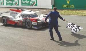 Toyota claim third straight Le Mans race