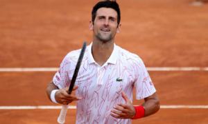 Djokovic, Halep into Italian Open finals