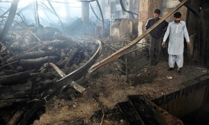 ATC hands death sentence to two MQM workers in Baldia factory fire case; Rauf Siddiqui acquitted
