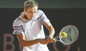 Top seed Medvedev falls at first hurdle
