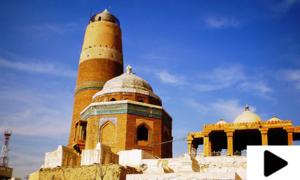 سکھر کا تاریخی میر معصوم شاہ کا مینارِ اکبر اپنی مثال آپ