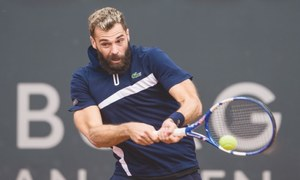 Paire plays in Hamburg after earlier positive virus test
