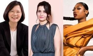 سیاہ فام امریکی ریپر، شامی فلم ڈائریکٹر،تائیوان کی صدر 100 بااثر شخصیات میں شامل