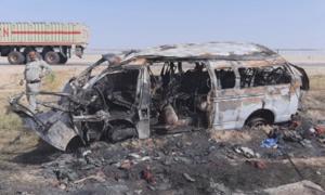 کراچی-حیدر آباد موٹروے: وین حادثے میں جھلس کے جاں بحق ہونیوالوں کی تعداد 15 ہوگئی