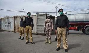 کراچی: کیسز میں اضافے کے بعد منگھوپیر کی یو سی 8 میں مائیکرو اسمارٹ لاک ڈاؤن کا فیصلہ