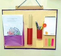 Wonder Craft: Study table organiser