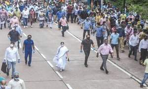 Five cops suspended over India gang-rape