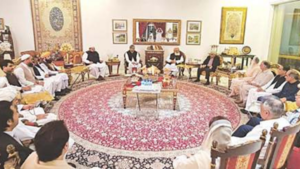 Fazl upbeat about Oct 16 PDM rally after talks with Maryam
