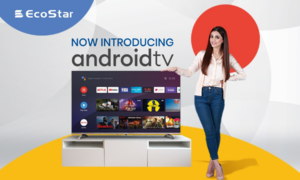 EcoStar launches Android TV series with advanced AI technology
