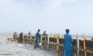 Twin islands along Karachi's coast are not viable for development