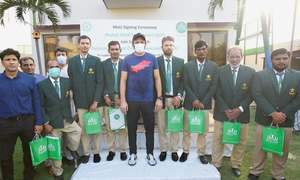 Shahid Afridi to coach Pakistan's physically challenged cricketers