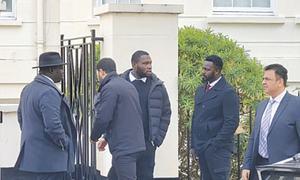 Nawaz's security ramped up in London