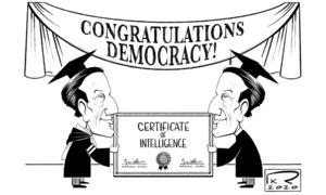 Cartoon: 18 October, 2020