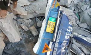 16 killed as landslide crushes bus in Skardu