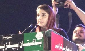 'Stop using army to hide own failures,' Maryam tells PM Imran at PDM's power show in Karachi