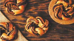 You can bake the fluffiest chocolate brioche buns using this recipe