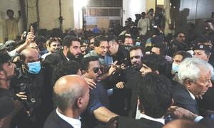 PPP left red-faced after arrest of Maryam's husband