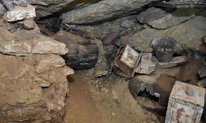 Another trove of ancient coffins found in Egypt