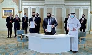 اسرائیل اور متحدہ عرب امارات کا دوطرفہ ویزا فری سفر کے معاہدے پر اتفاق