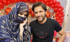 شادی کی 20ویں سالگرہ پر شاہد آفریدی کا اہلیہ کے لیے پیغام