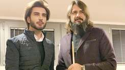 Imran Abbas and Ertugrul star Cem Ucan face off in a game of pool
