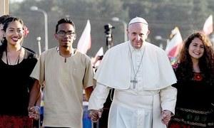 پوپ فرانسس کا ہم جنس پرستوں کے لیے قانونی تحفظ کا مطالبہ