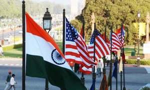 بھارت، امریکا کی سیٹلائٹ ڈیٹا پر عسکری معاہدے کی تیاری