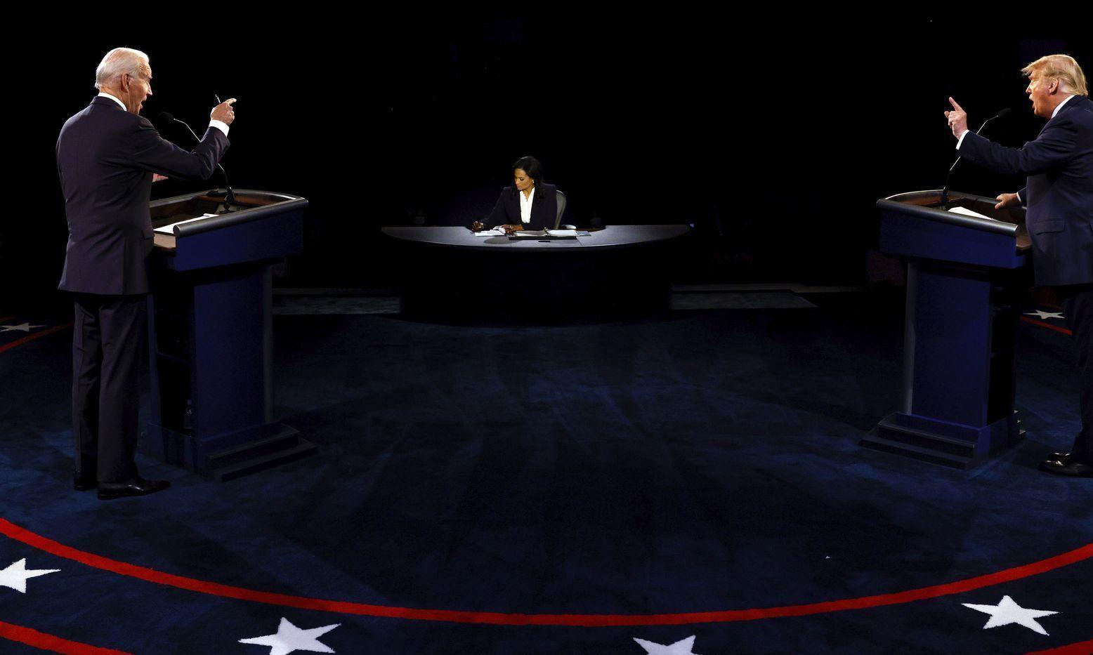 امریکا: صدارتی امیدواروں کا آخری مباحثہ، ٹرمپ کے جو بائیڈن پر بدعنوانی کے الزامات