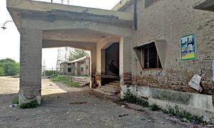 Rickety Gojra railway station building poses a threat