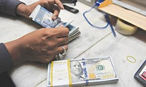 Dollar's slide continues against rupee; down Rs7 since August