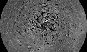 On the moon, water water everywhere and not a drop to drink — yet