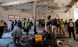 پشاور: مدرسے میں دھماکا، 8 افراد جاں بحق، 110 زخمی